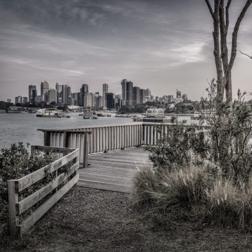 Birchgrove, Sunset (B&W) | Sydney Shots