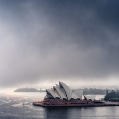 Sydney Opera House, Sunrise Fog