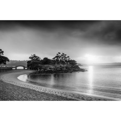 Balmoral Beach, Sunrise (B&W) | Sydney Shots