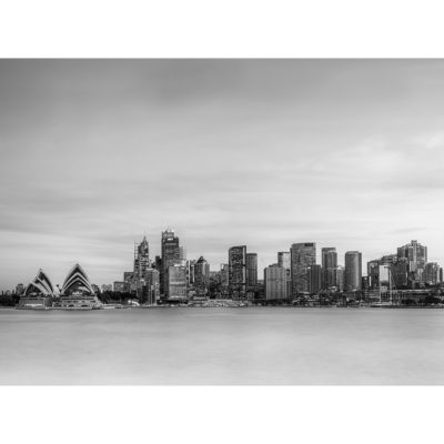 Kirribilli, Sunset (B&W) | Sydney Shots