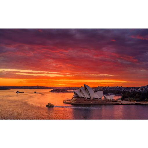 Sydney Harbour, Sunrise 1 | Sydney Shots