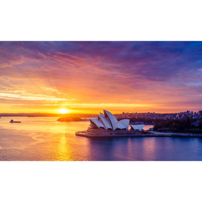 Sydney Harbour, Sunrise 2 | Sydney Shots