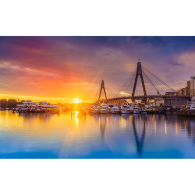 Sydney Fish Market, Sunset | Sydney Shots