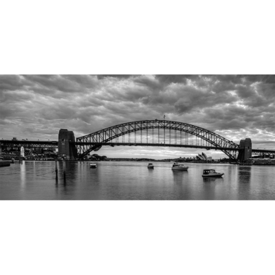 McMahons Point, Sunrise 2 (B&W) | Sydney Shots