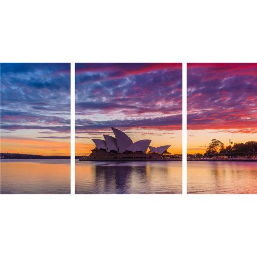 Circular Quay, Sunrise Triptych | Sydney Shots