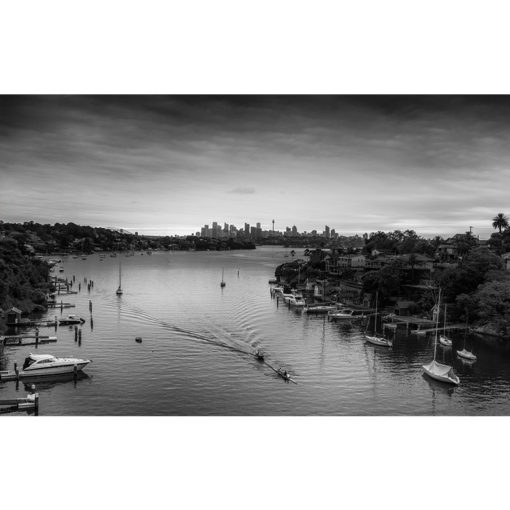 Hunters Hill, Sunrise (B&W) | Sydney Shots