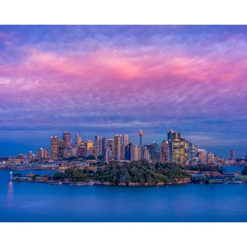 Balls Head Reserve, Sunset 10x8 | Sydney Shots