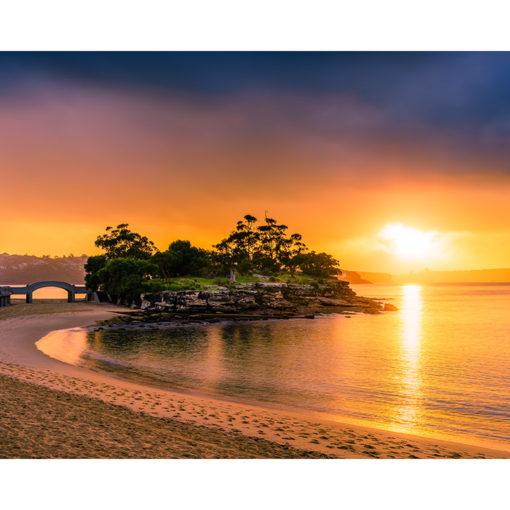 Balmoral Beach, Sunrise 10x8 | Sydney Shots