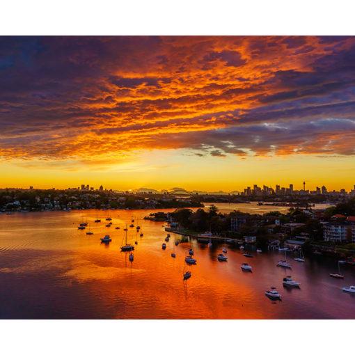 Gladesville Bridge, Sunrise 10x8 | Sydney Shots