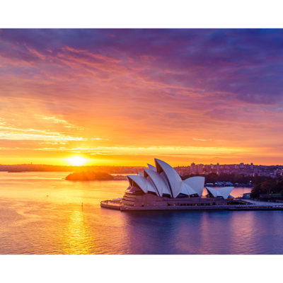 Sydney Harbour, Sunrise 2, 10x8 | Sydney Shots