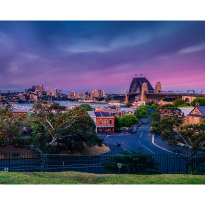 Observatory Hill, Sunset 10x8 | Sydney Shots