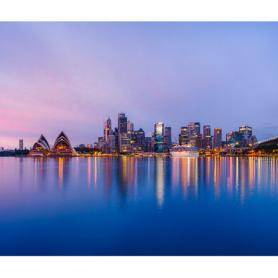 Kirribilli, Dawn 10x8 | Sydney Shots