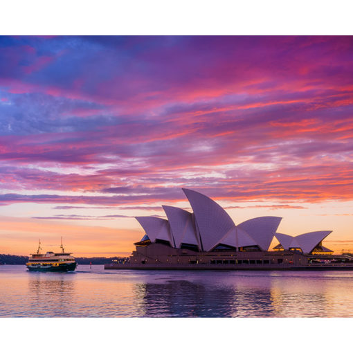 Circular Quay, Sunrise 10x8 | Sydney Shots