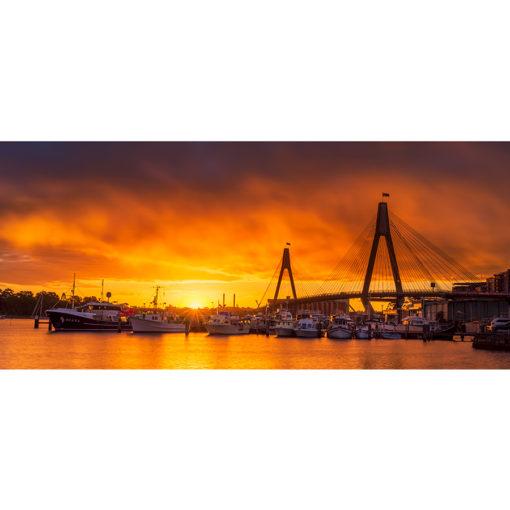 Sydney Fish Market, Sunset 2 | Sydney Shots