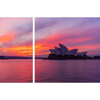 Circular Quay, Sunrise Diptych