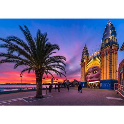 Luna Park, Sunset | Sydney Shots