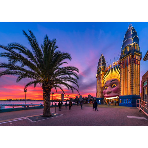 Luna Park, Sunset | Sydney Shots