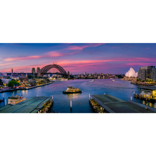 Circular Quay, Sunset 2 | Sydney Shots