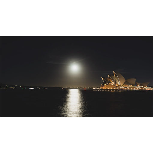 Sydney Harbour, Full Moon | Sydney Shots