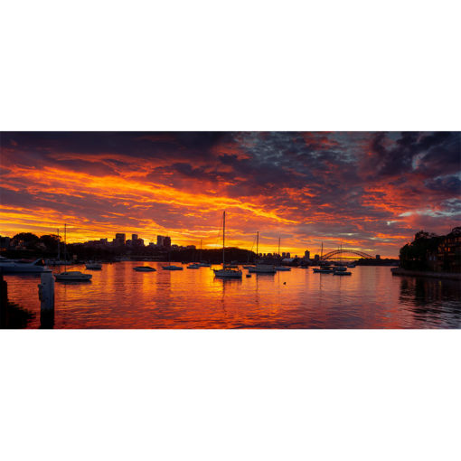 Birchgrove, Sunrise 3   Sydney Shots