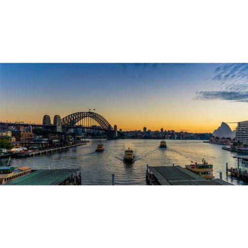 Circular Quay, Sunrise 3 | Sydney Shots