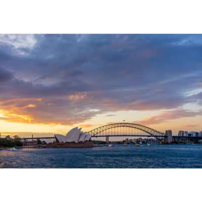 Mrs Macquarie's Chair, Sunset 3 | Sydney Shots